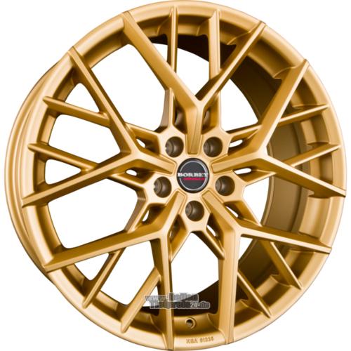 BORBET BY Gold Matt Einteilig Wintertaugliche Alufelgen 9.00x20ET35.00 Reifen möglich