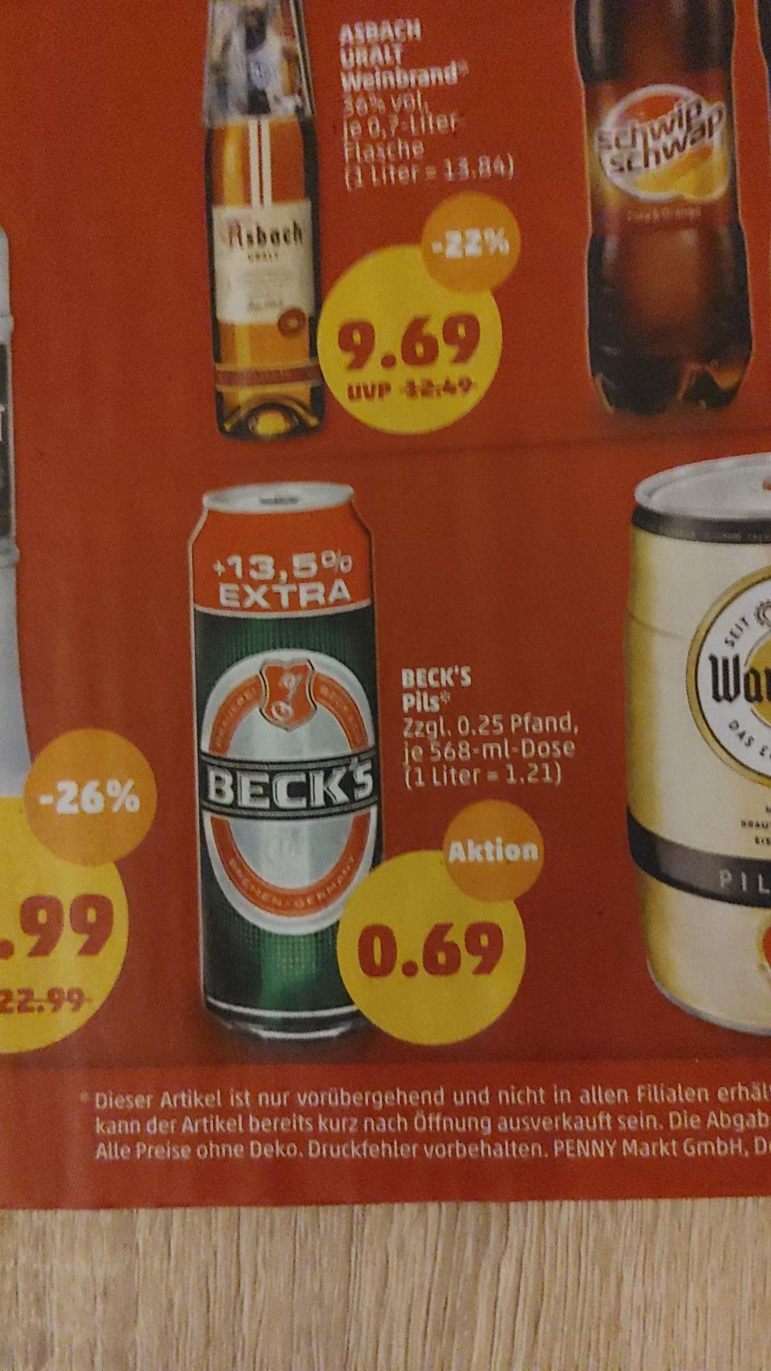 Beck's XXL 0,568L Dose