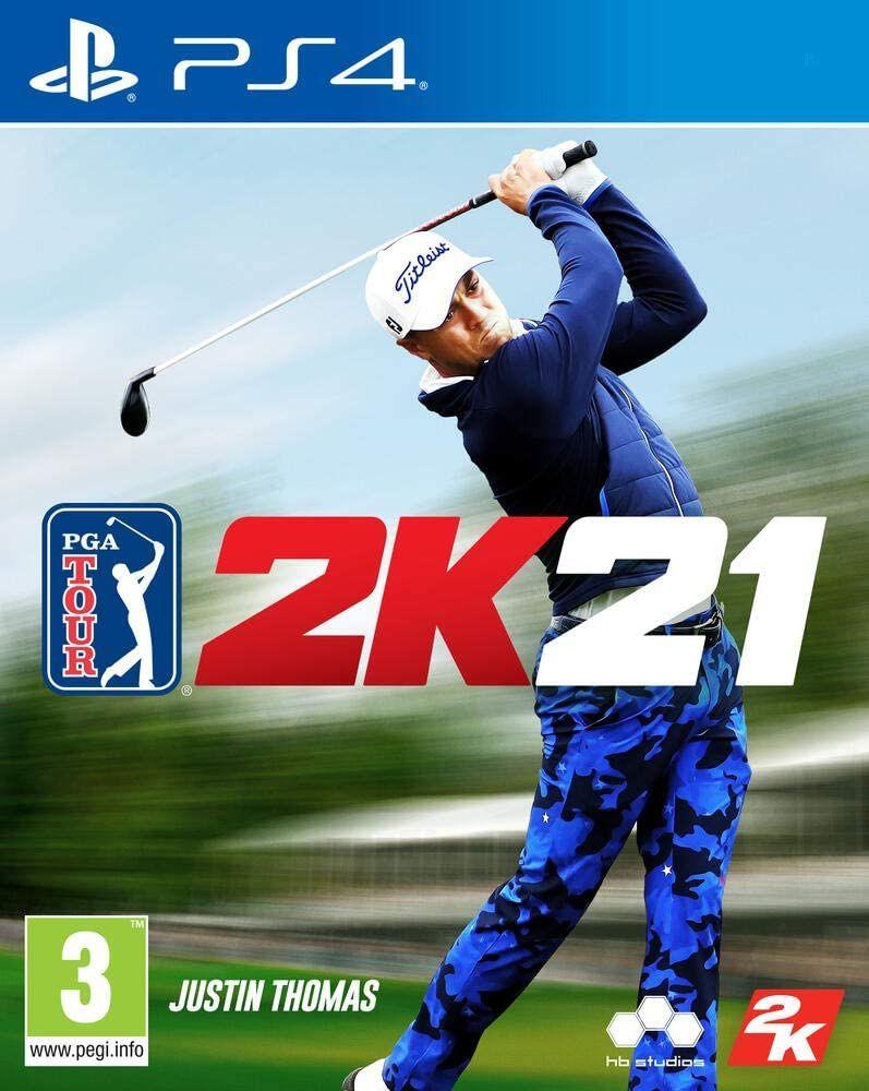PGA Tour 2K21 (PS4, PEGI, Metascore 76)