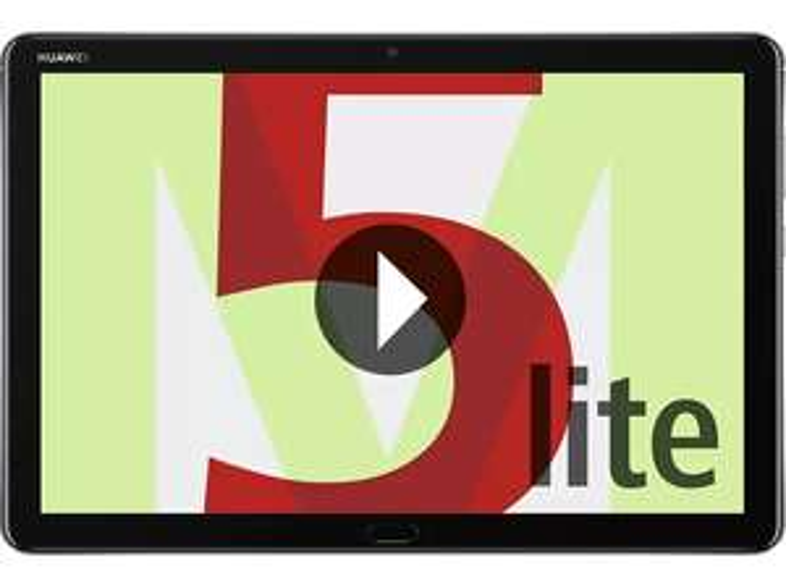 HUAWEI MediaPad M5 lite WiFi Tablet-PC 25,6 cm (10,1 Zoll), Full HD, Kirin 659, 4 GB RAM, 64 GB interner Speicher, Android 8.0 EMUI 8.0