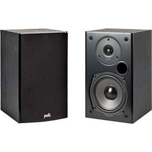 Polk Audio T15 Regallautsprecher Stereo-Lautsprecher, HiFi Lautsprecher für Musik und Heimkino