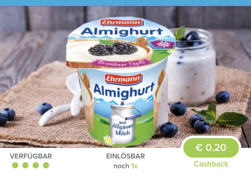 [Marktguru] Almighurt für 9ct bei Rewe // für 5ct bei Kaufland (ab 28.01.) - Fast-Freebie