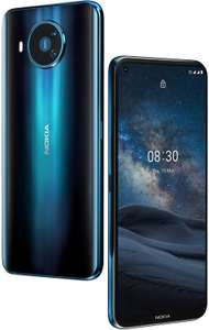 "Nokia 8.3 5G 6,8"" FHD+ Smartphone 6/64GB (Android One, Snapdragon 765G, 325K AnTuTu, 4500 mAh, 64MP Zeiss Quad-Cam, NFC, USB-C, HDR10)"
