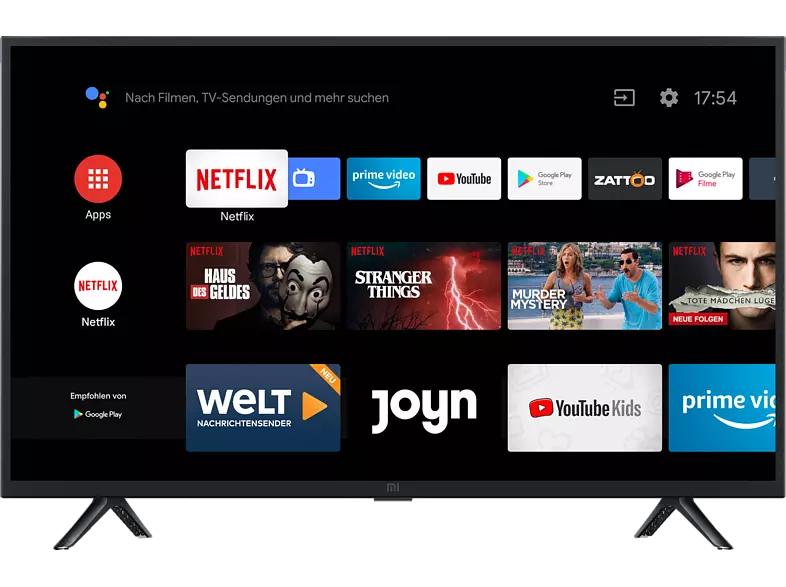 XIAOMI Smart TV 4A 32Zoll 80cm HD SMART TV Android TV 9 für 138,31€ inkl. Versandkosten