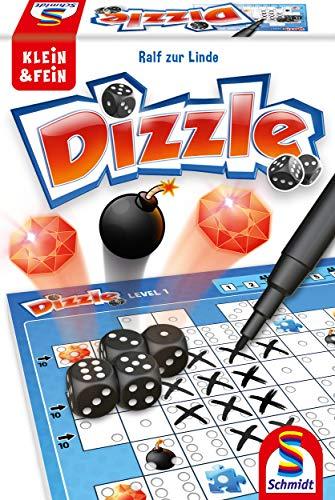 Schmidt Spiele 49352 Dizzle, Würfelspiel aus der Serie Klein & Fein, bunt (Prime)