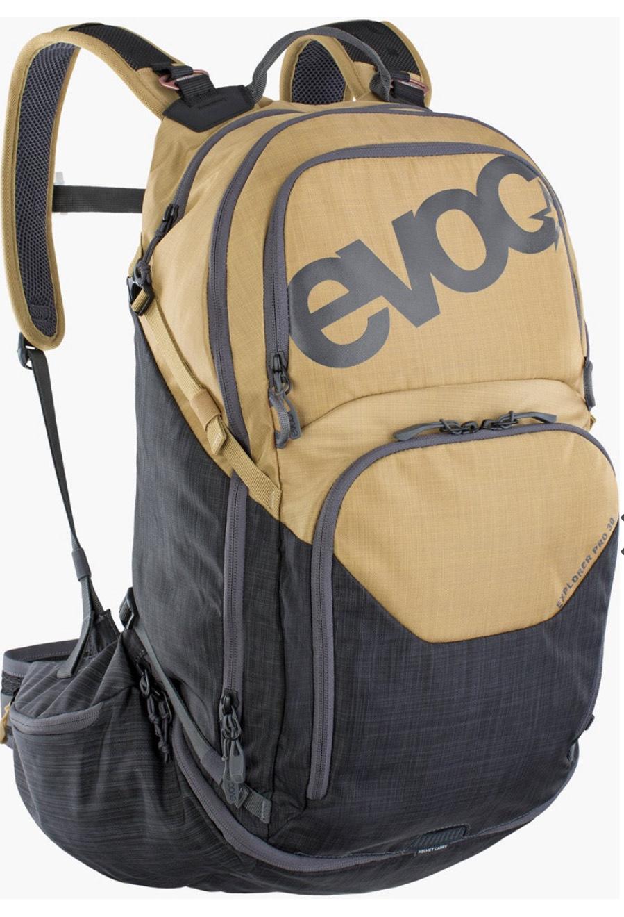 Evoc Explorer Pro 30L Gold/Carbon