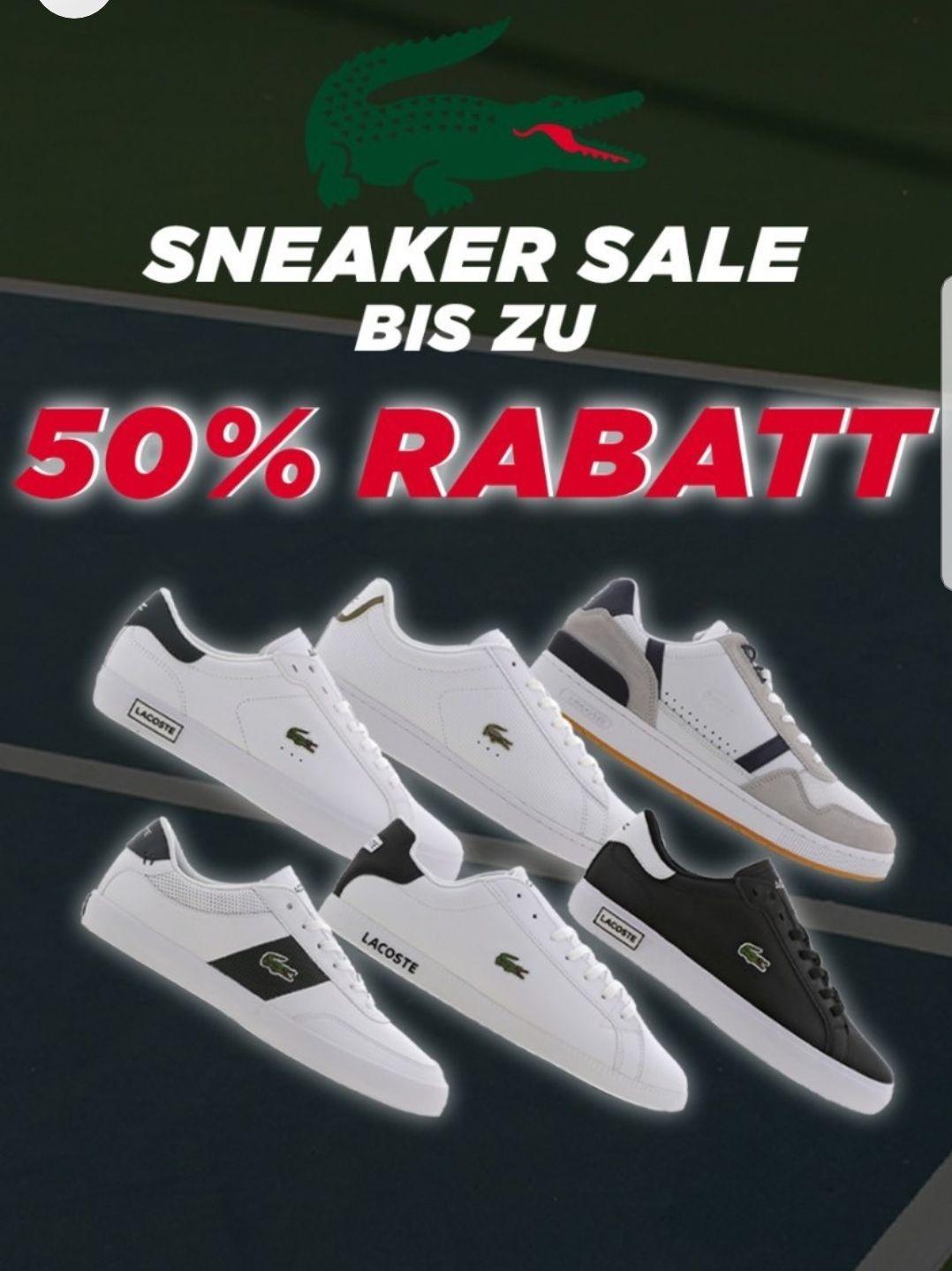 Lacoste Sneaker Sale bei Foot Locker