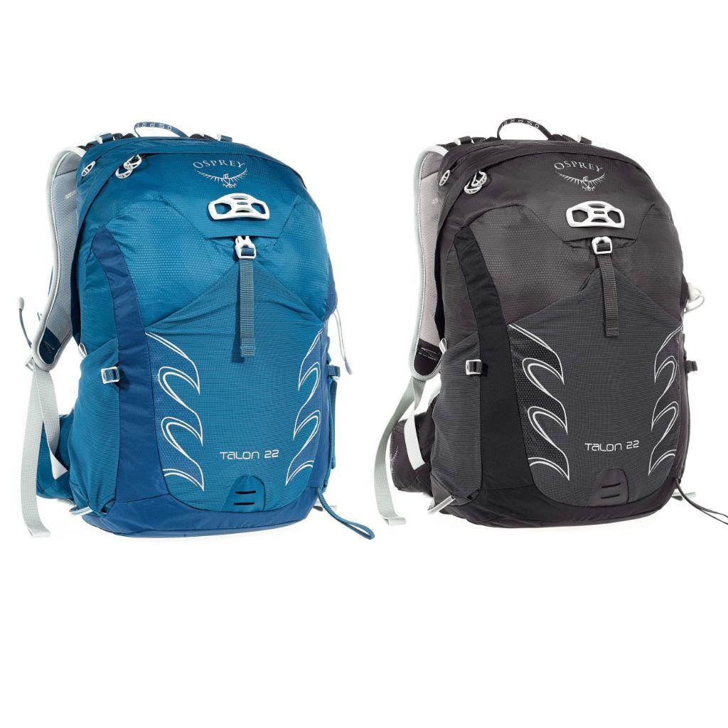 Osprey TALON 22 Männer - Wanderrucksack // schwarz oder blau // S/M & M/L