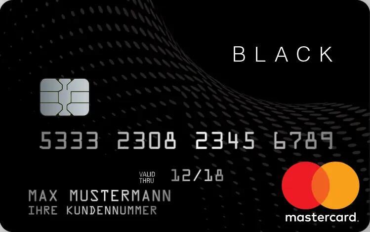[shoop] 30€ Cashback + 50% Rabatt beim Abschluss von 2 Kreditkarten | Black&White Prepaid Mastercard