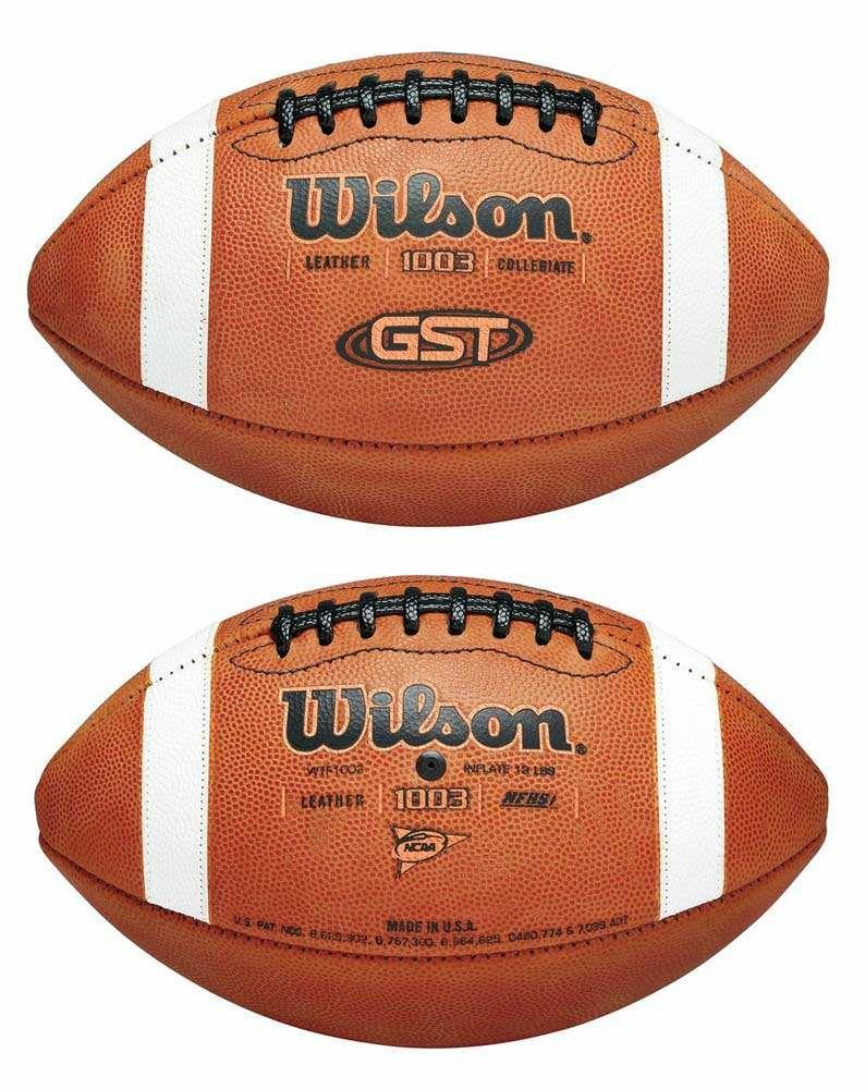 [ballhandel.de] Wilson Football GST Gameball WTF1003B, Lederball