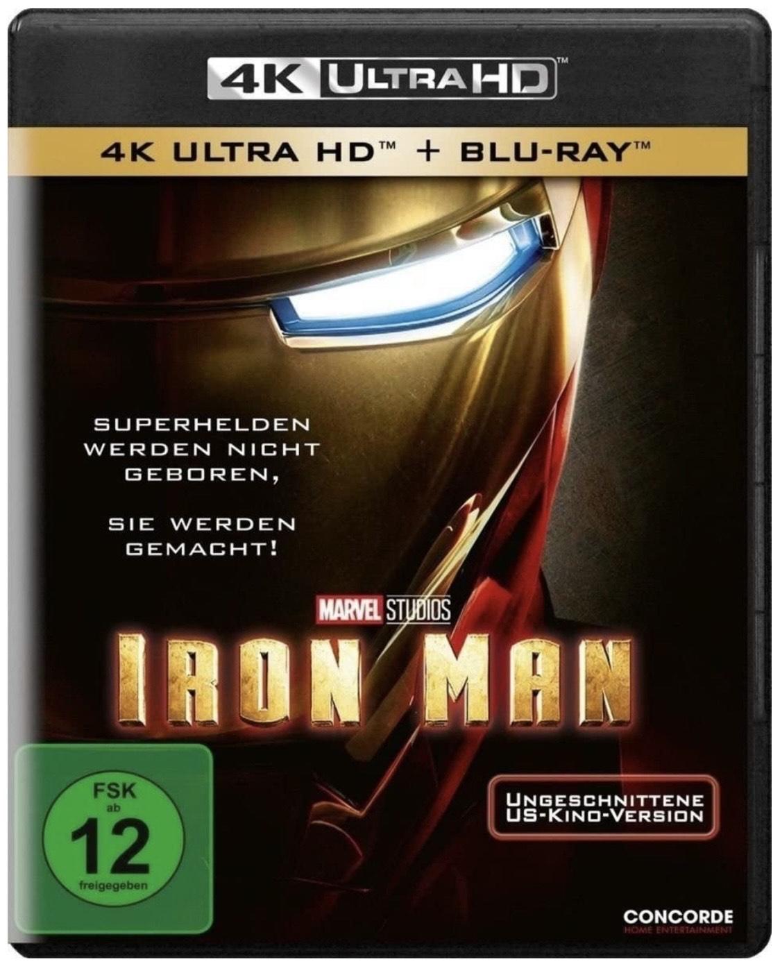 Iron Man [4K Ultra HD] + Blu-ray