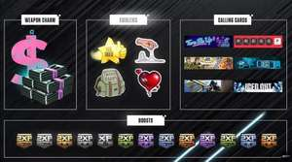 Call of Duty: Cold War CDL Stream Rewards
