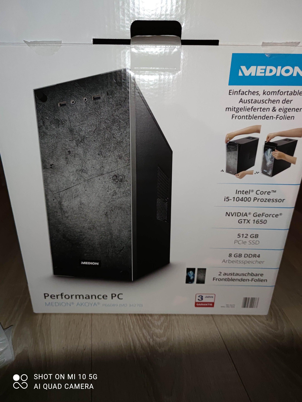Lokal Aldi Nord Solingen?!: MEDION® AKOYA® PC P66089 | i5-10400, 8GB DDR4, 512GB SSD, GTX 1650 4GB