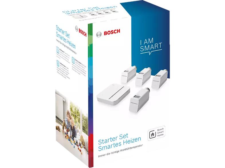 BOSCH Smart Home Starter Set 4x Thermostat, 1x Controller UVP 359€