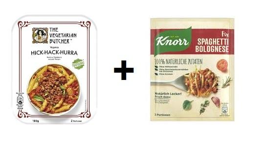 [Kaufland evtl. Lokal bis Mi] Vegetarian Butcher + Knorr Fix Natürlich Lecker mit Coupies Cashback für effektiv 1,66€ (5x pro Acc möglich)