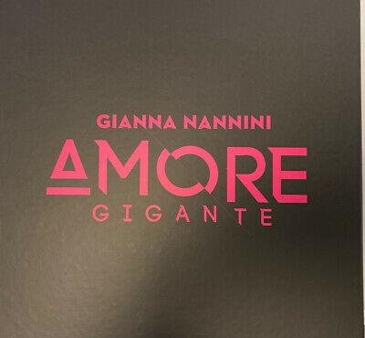 Ebay/VTN-GmbH: Gianna Nannini - Amore Gigante - Deluxe-Edition (2 CDs + 1 LP + T-Shirt) - Limitiertes Boxset