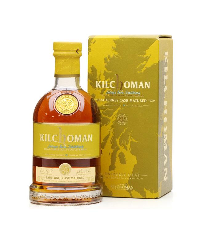 Kilchoman 2011/2016 5 Jahre Sauternes Cask Matured 50,0% vol. Islay Single Malt Whisky