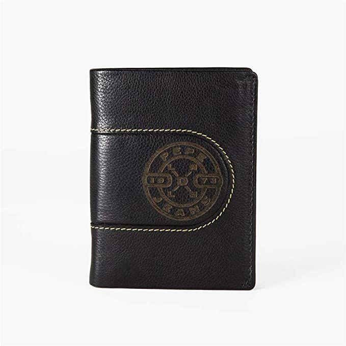 Pepe Jeans Geldbörse Burned vertikal Portemonnaie Münzfach Brieftasche @amazon