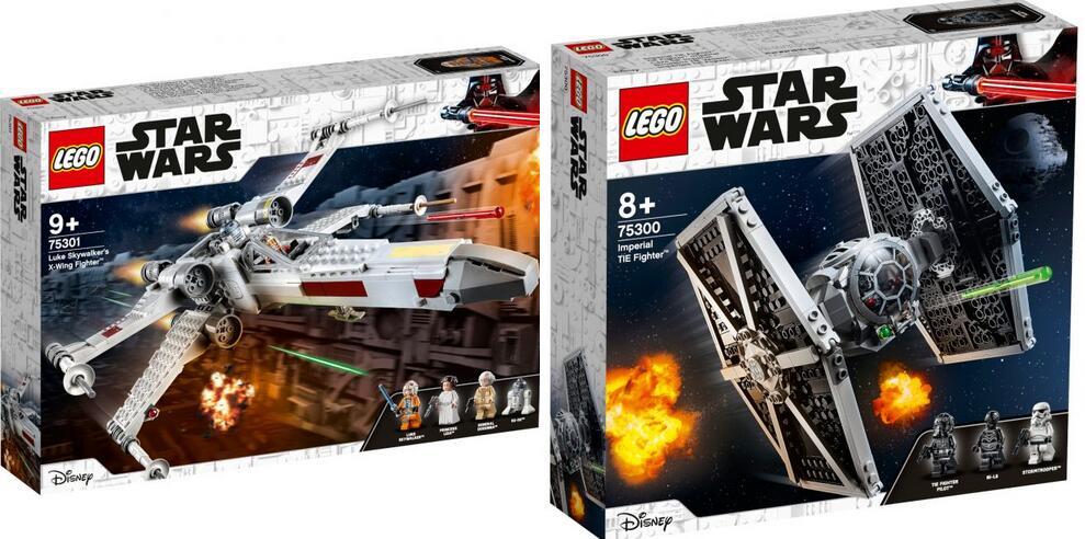 [MIFUS.de] LEGO Star Wars 75301 Luke Skywalkers X-Wing Fighter 39,99€ & 75300 Imperial TIE Fighter 34,94€ (ab 2.2.2021 lieferbar)