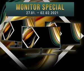 NBB Monitor Special: diverse Monitore von Acer, ASUS, BenQ, HP, Samsung & Viewsonic