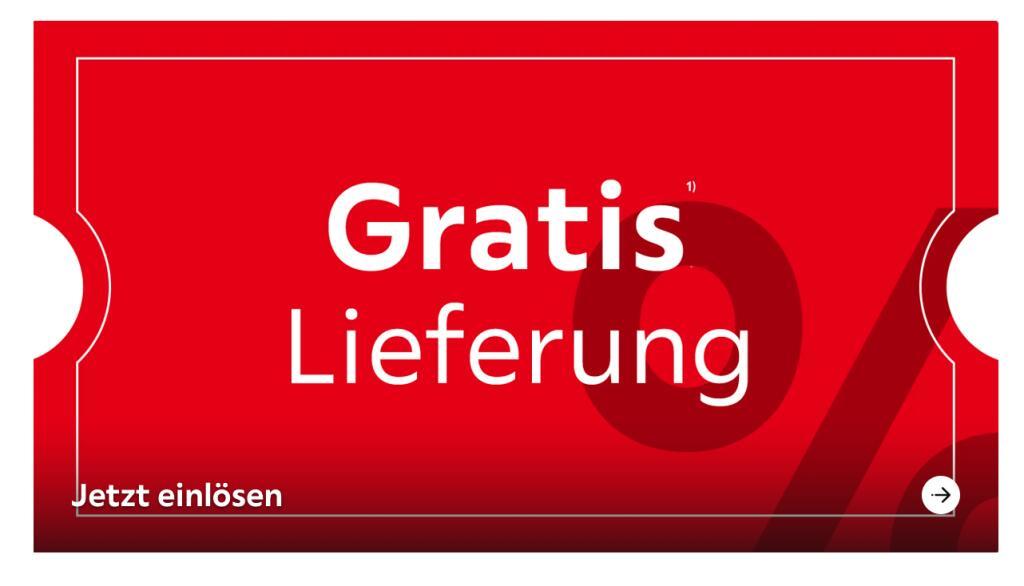 XXXLutz: Gratis Lieferung ab 250 € für Möbel / sonst 39,95€ / ausgenommen Sale-Ware, Gutscheinkauf, Designerleuchten und Bücher