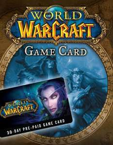 World of Warcraft 30 Tage Spielzeit GameCard (Battle.net Key)