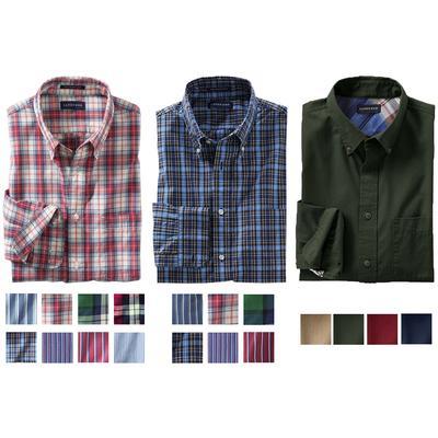 LANDS' END Herren Freizeithemden Baumwollhemden in verschiedenen Farben @ Ebay WOW
