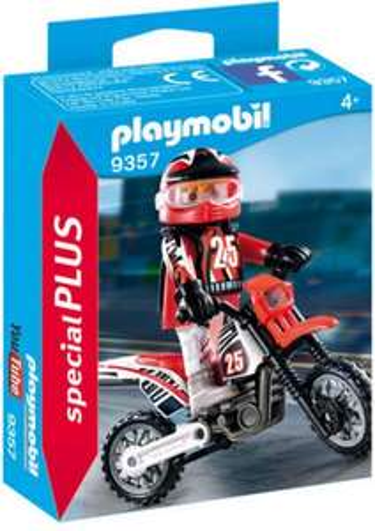 (Thalia) Playmobil Special Plus - Motocross-Fahrer (9357)