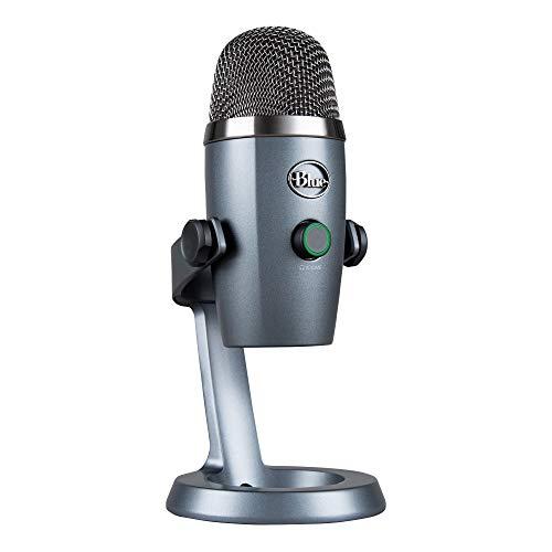Blue Microphones Yeti NANO USB-Mikrofon in Grau