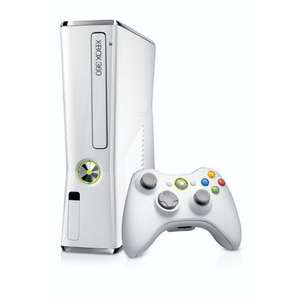 Xbox 360 - Konsole Slim - 4 GB weiß Limited Edition 137,93 EUR