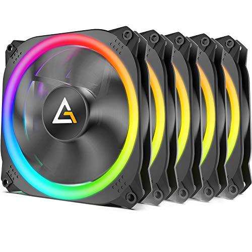 Antec Prizm 120 ARGB 5+C, 120mm, 5er-Pack, LED-Steuerung