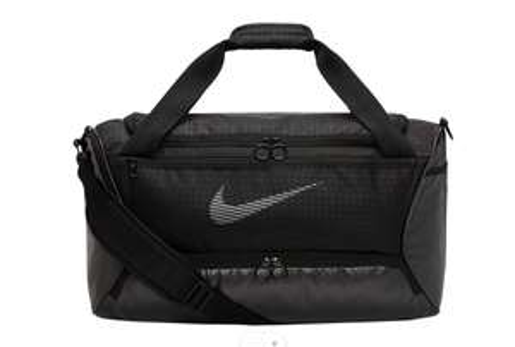 Nike Brasilia Duffel Sporttasche in Schwarz (Maße (L x B x T): ca. 58 x 25 x 25 cm)