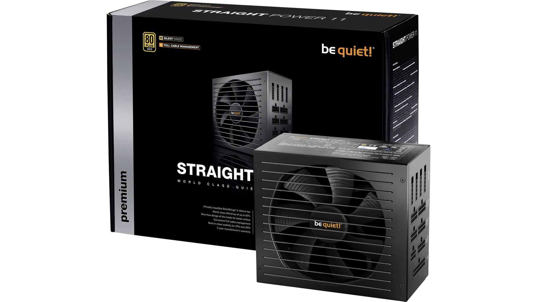 BeQuiet Straight Power 11 750W Netzteil zu einem günstigen Preis | [voelkner]