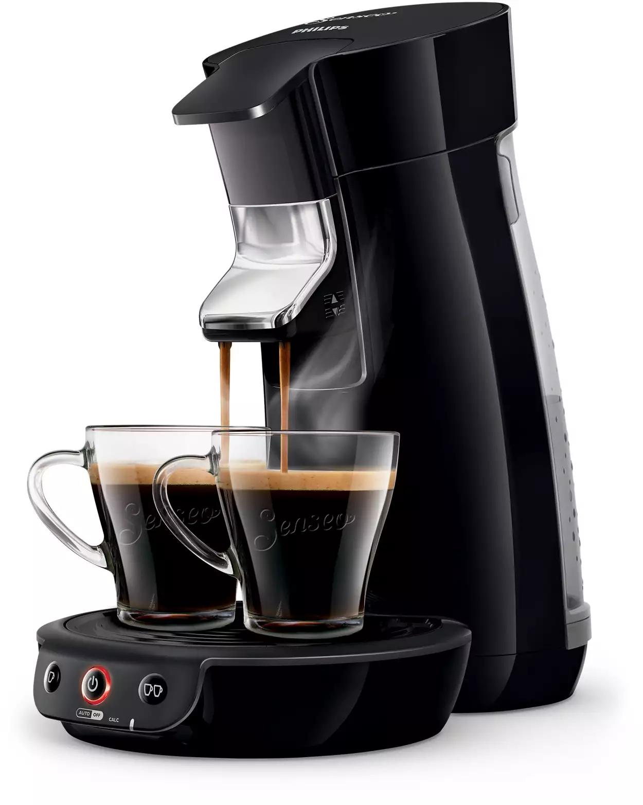 Senseo Kaffeepadmaschine HD6561/68 preiswerter dank Newsletter Gutschein