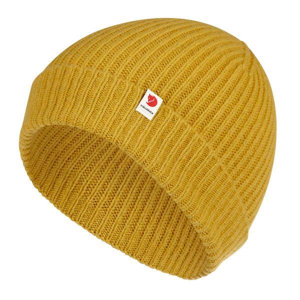 [globetrotter.de] Fjällräven LOGO TAB HAT Unisex - Mütze, mustard yellow und eine weitere
