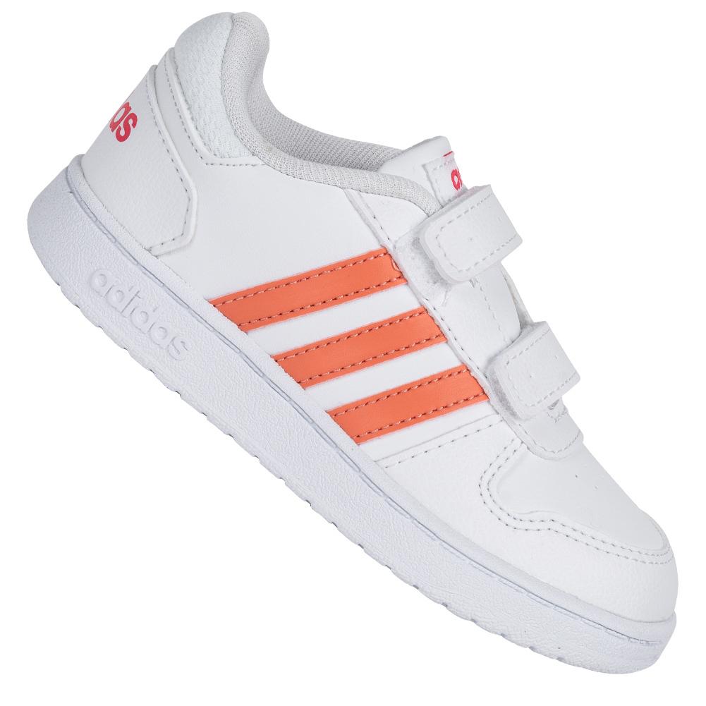 adidas HOOPS 2.0 CMF Kleinkinder Schuhe (Größen 19 bis 26,5)