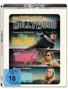 Once Upon A Time In… Hollywood 4K (Limited UHD/BD Steelbook) Amazon Exklusiv