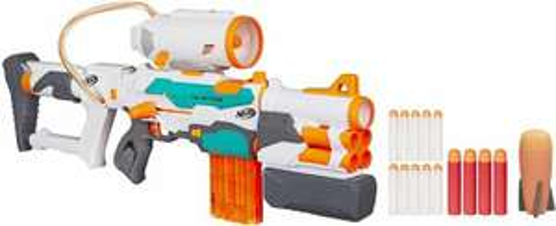 [buecher.de] Nerf N-Strike Modulus Tri-Strike Blaster, 3 verschiedene Pfeilsysteme