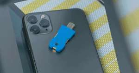 Solo Key V2 – FIDO2 U2F/WebAuthn Zwei-Faktor-Authentifizierungs-USB-Stick (2FA)
