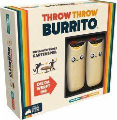 [buecher.de] Throw Throw Burrito - Asmodee, Partyspiel, 2-6 Spieler