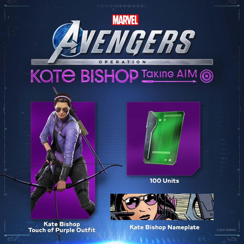 (PS4) Marvel Avengers - DLC Kate Bishop PS+ Bonuspack