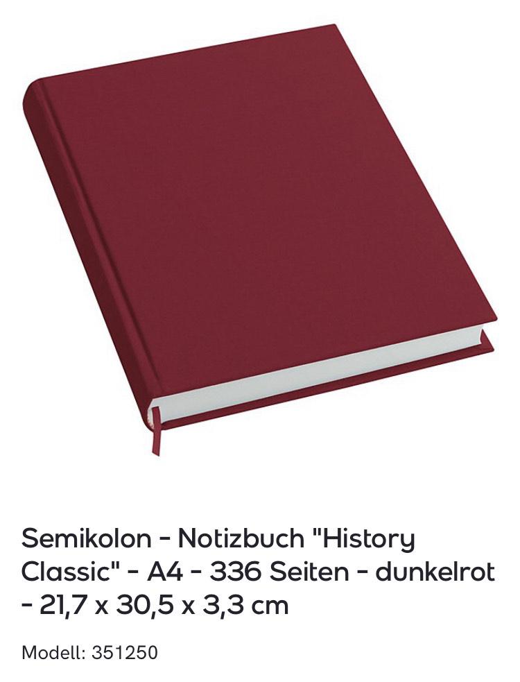 Semikolon und Leuchtturm Notizbücher bei Veepee