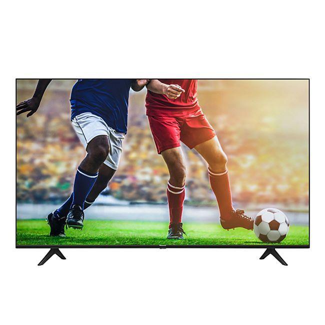 Hisense 43AE7000F 108cm (43 Zoll) Fernseher (4K Ultra HD, HDR, Triple Tuner DVB-C/S/S2/T/T2, Smart-TV, Frameless, Bluetooth)