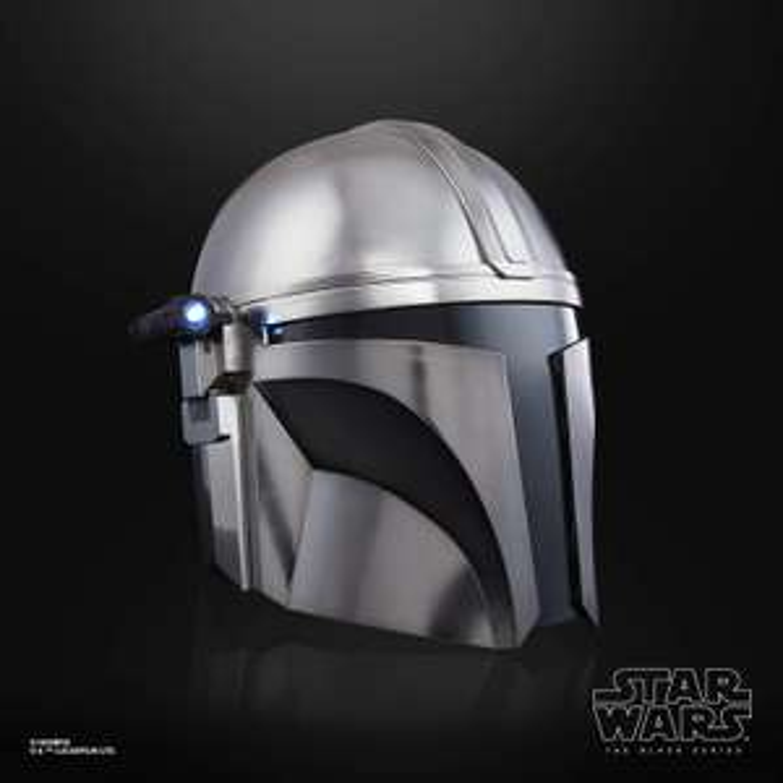 Hasbro Star Wars: The Black Series - The Mandalorian - elektronischer Sammler-Helm mit LED-Leuchteffekten [Vorbestellung]