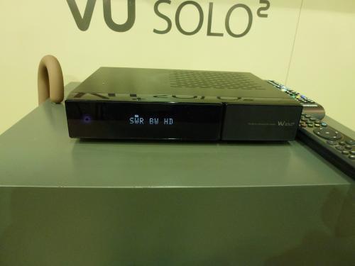 VU+ Solo² HD SAT Receiver (3D-fähig, Dual Tuner, 1920x1080p, Dual Core 2x1,3 Ghz = 2,6Ghz)