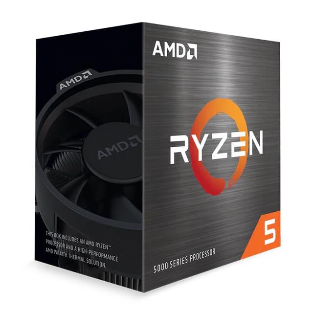 AMD Ryzen 5 5600X - 3.7 GHz - 6 Kerne - 12 Threads - 32 MB Cache-Speicher - AM4