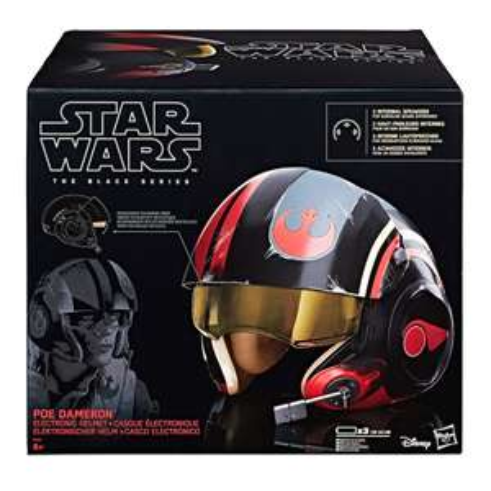 Star Wars Poe Dameron Hasbro Black Series Helm