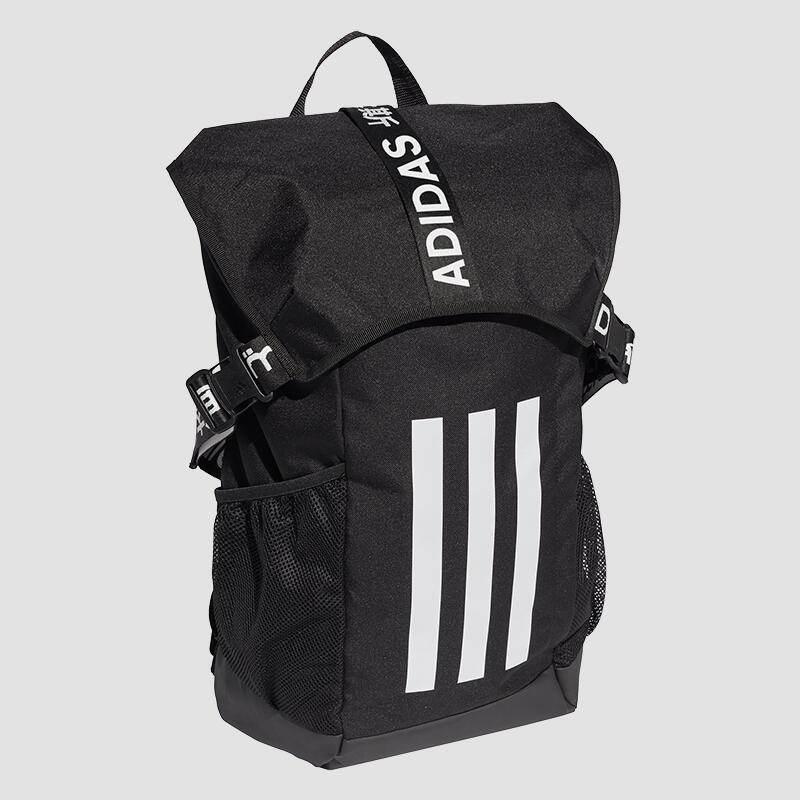 adidas 4ATHLTS Rucksack in schwarz (29l Volumen, seitliche Einschubtaschen, gepolstertes Laptopfach)