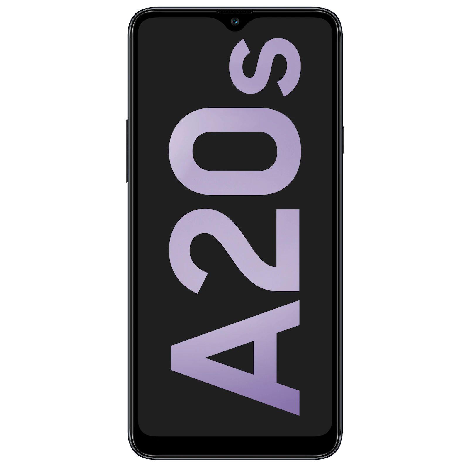 SamsungGalaxy A20s 32GB, Handy(Black, Dual SIM, Android 9.0 (Pie), 3 GB) [Aldi]