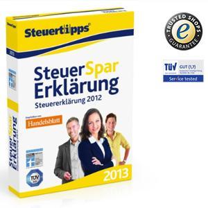 Steuer - Spar - Erklärung 2013 22,46€ Versandkostenfrei